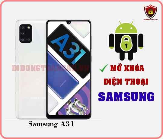 Mở khoá điện thoại Samsung A31