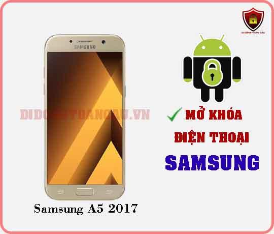 Mở khoá điện thoại Samsung A5 2017