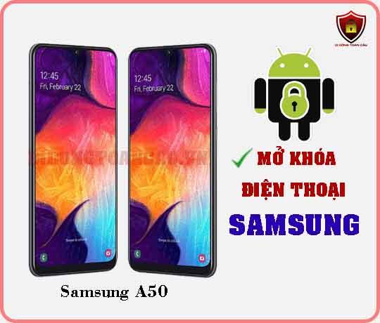 Mở khoá điện thoại Samsung A50