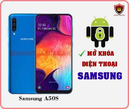 Mở khoá điện thoại Samsung A50S