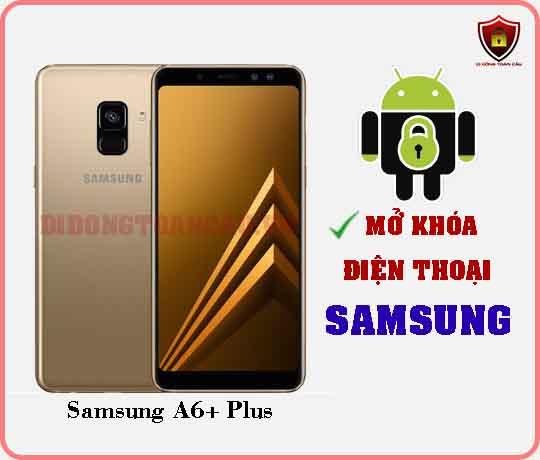 Mở khoá điện thoại Samsung A6 PLUS