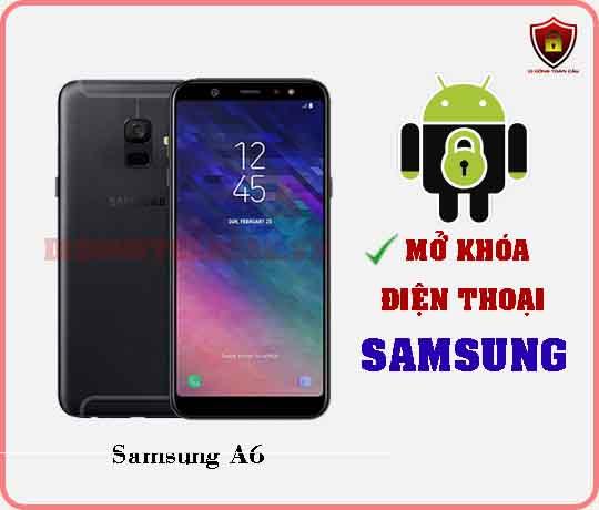 Mở khoá điện thoại Samsung A6