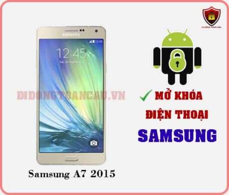 Mở khoá điện thoại Samsung A7 2015