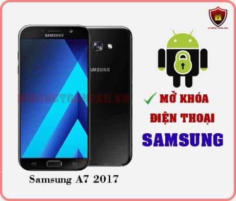 Mở khoá điện thoại Samsung A7 2017