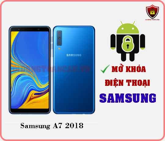 Mở khoá điện thoại Samsung A7 2018