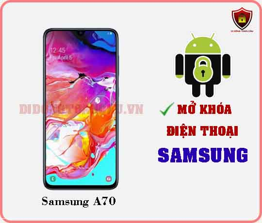 Mở khoá điện thoại Samsung A70