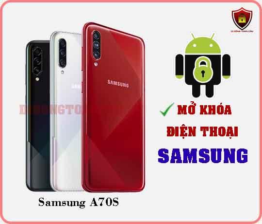 Mở khoá điện thoại Samsung A70S