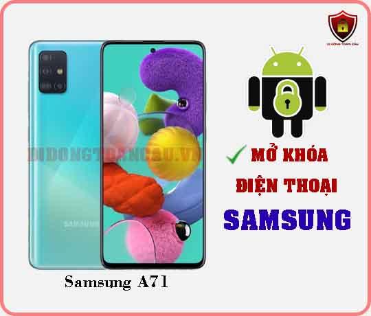 Mở khoá điện thoại Samsung A71