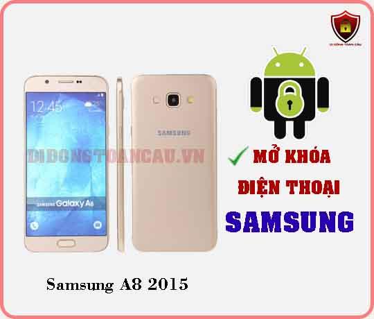 Mở khoá điện thoại Samsung A8 2015