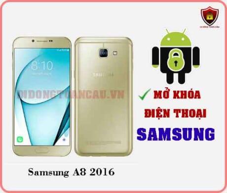 Mở khoá điện thoại Samsung A8 2016