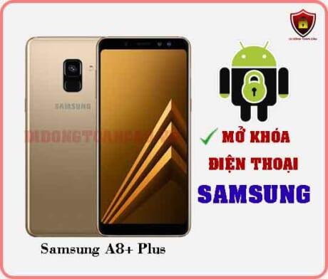 Mở khoá điện thoại Samsung A8 PLUS