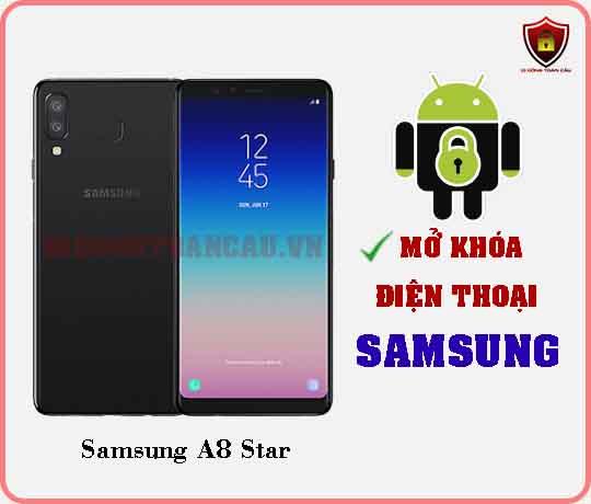 Mở khoá điện thoại Samsung A8 STAR