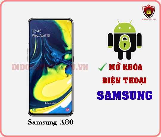 Mở khoá điện thoại Samsung A80