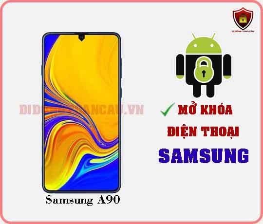 Mở khoá điện thoại Samsung A90