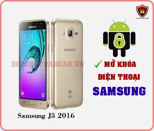 Mở khoá điện thoại Samsung J3 2016