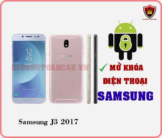 Mở khoá điện thoại Samsung J3 2017