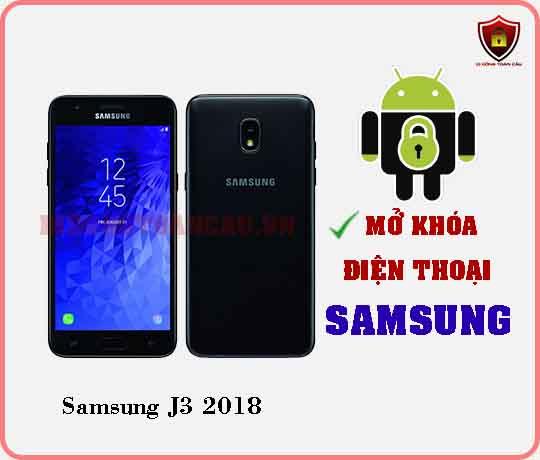 Mở khoá điện thoại Samsung J3 2018