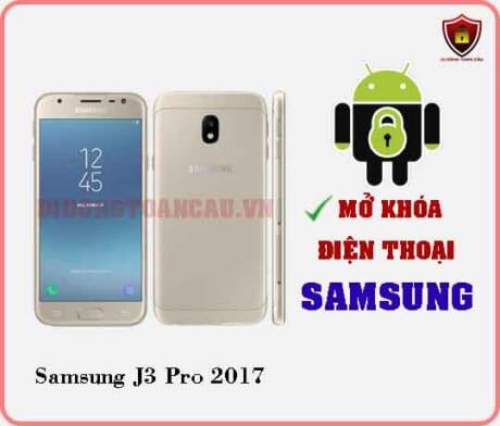Mở khoá điện thoại Samsung J3 PRO 2017