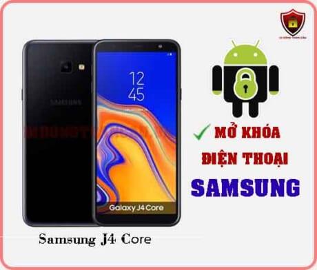 Mở khoá điện thoại Samsung J4 CORE