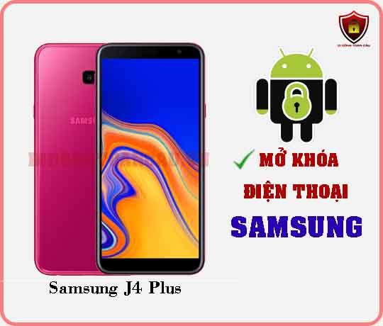 Mở khoá điện thoại Samsung J4 PLUS