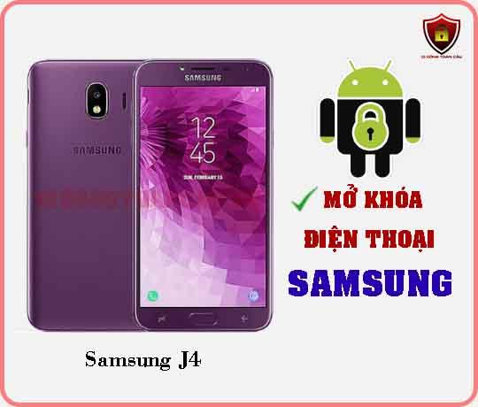 Mở khoá điện thoại Samsung J4