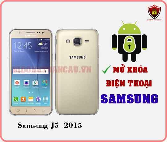 Mở khoá điện thoại Samsung J5 2015