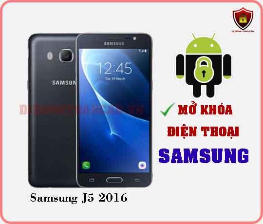 Mở khoá điện thoại Samsung J5 2016
