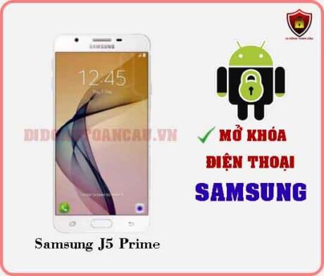 Mở khoá điện thoại Samsung J5 PRIME