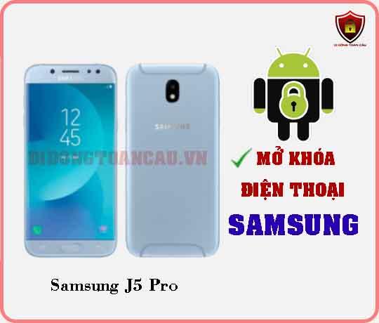 Mở khoá điện thoại Samsung J5 PRO