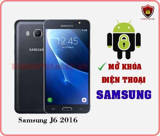 Mở khoá điện thoại Samsung J6 2016