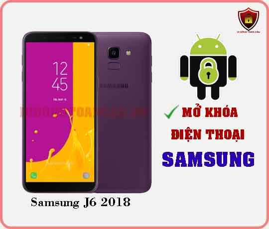 Mở khoá điện thoại Samsung J6 2018