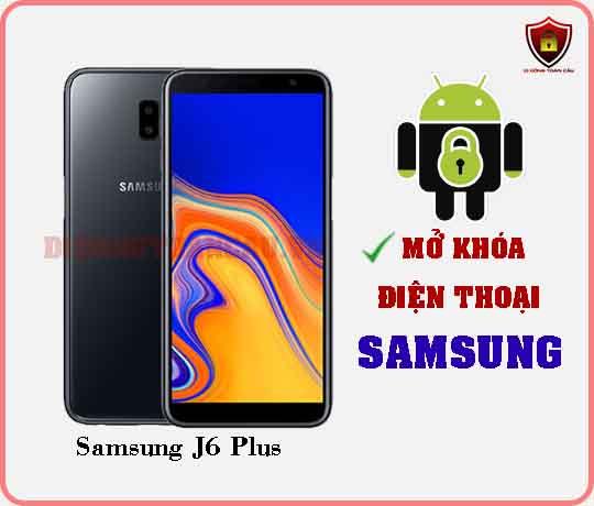 Mở khoá điện thoại Samsung J6 PLUS