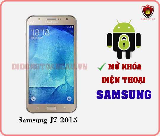 Mở khoá điện thoại Samsung J7 2015