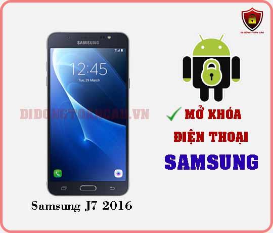 Mở khoá điện thoại Samsung J7 2016