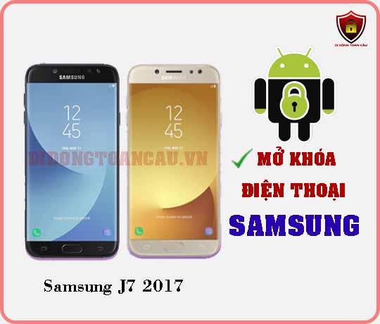 Mở khoá điện thoại Samsung J7 2017