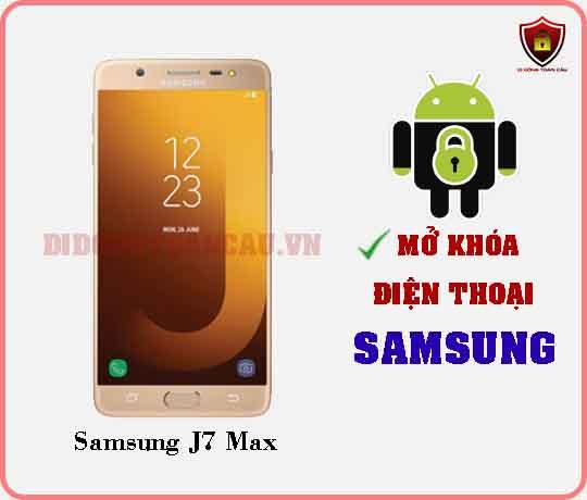 Mở khoá điện thoại Samsung J7 MAX