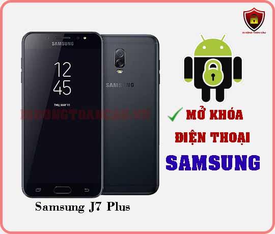 Mở khoá điện thoại Samsung J7 PLUS