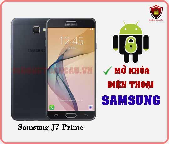 Mở khoá điện thoại Samsung J7 PRIME