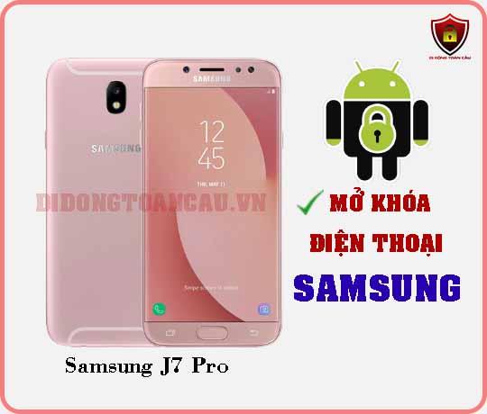 Mở khoá điện thoại Samsung J7 PRO