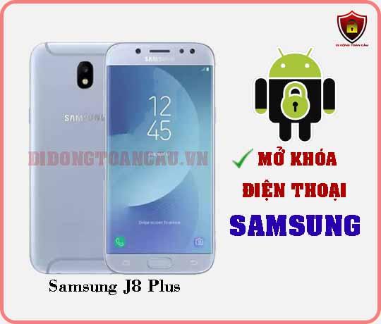 Mở khoá điện thoại Samsung J8 PLUS