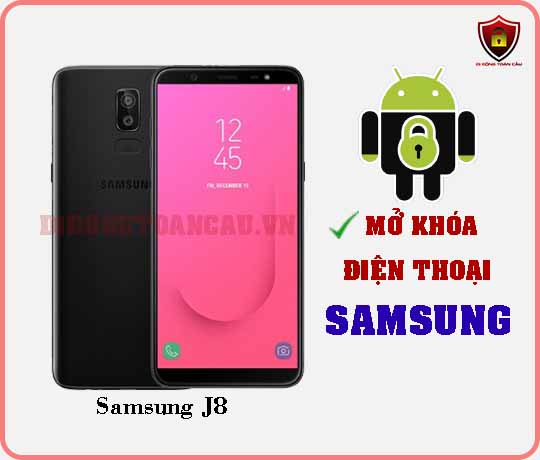 Mở khoá điện thoại Samsung J8