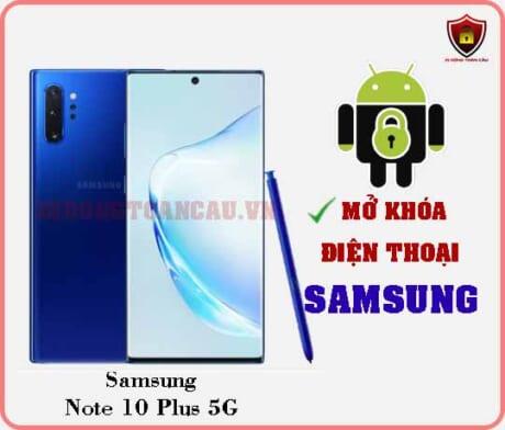 Mở khoá điện thoại Samsung Note 10 Plus 5G