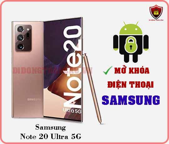 Mở khoá điện thoại Samsung Note 20 Ultra 5G
