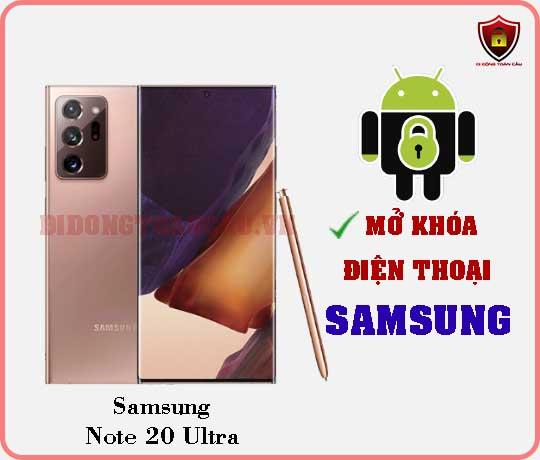 Mở khoá điện thoại Samsung Note 20 Ultra