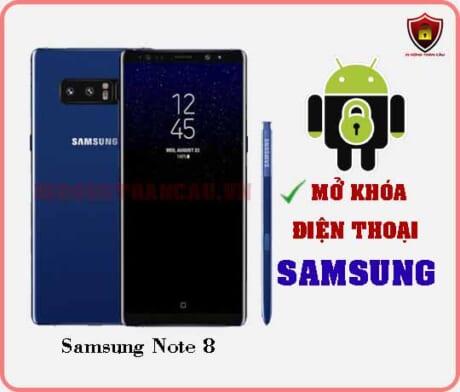 Mở khoá điện thoại Samsung Note 8