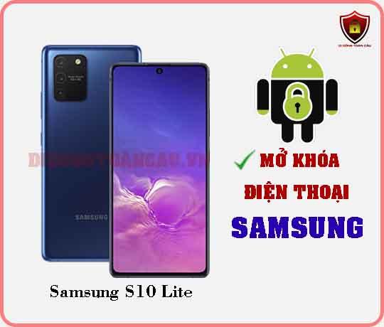 Mở khoá điện thoại Samsung S10 Lite