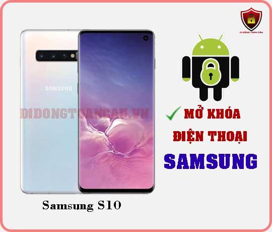 Mở khoá điện thoại Samsung S10