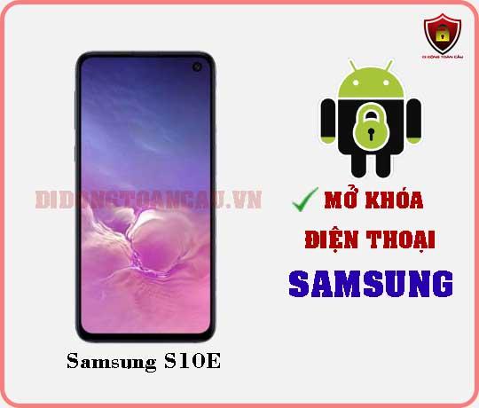 Mở khoá điện thoại Samsung S10E