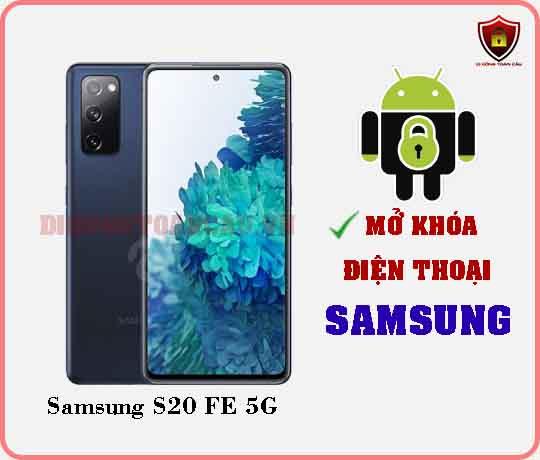 Mở khoá điện thoại Samsung S20 FE 5G