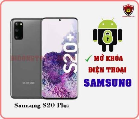Mở khoá điện thoại Samsung S20 Plus